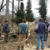 Dumitru Pearcu face un parc la Tomşani