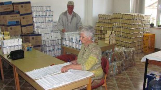 Ajutoare alimentare de la UE, pana pe 31 martie