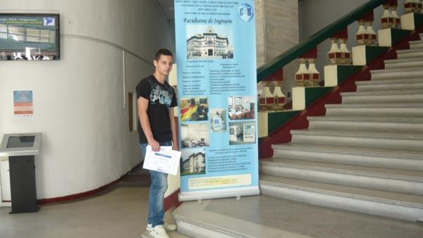 Alexandru Chiriac – premiul I la Arta digitala – poster