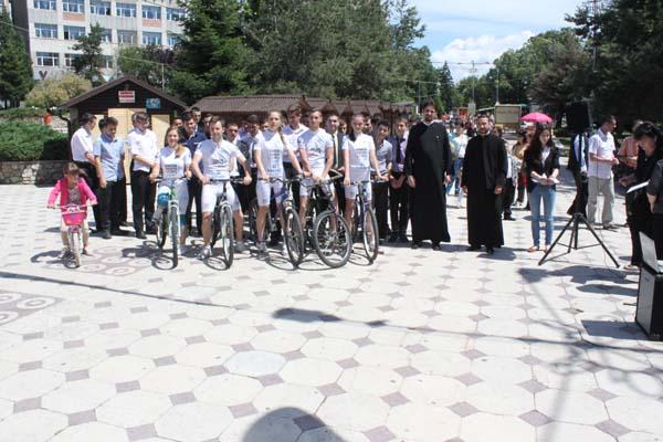 Stafeta ciclista pentru ajutorarea bolnavilor cu scleroza multipla