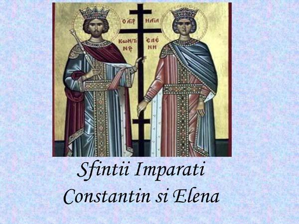 2013, anul Sfintilor Imparati Constantin si Elena