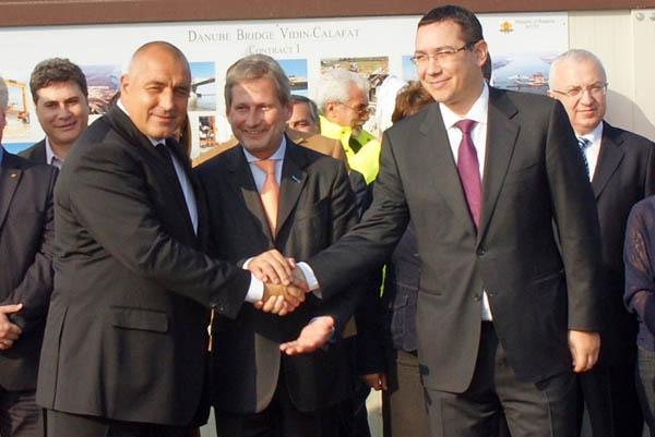 Podul Calafat-Vidin va fi inaugurat vineri, 14 iunie