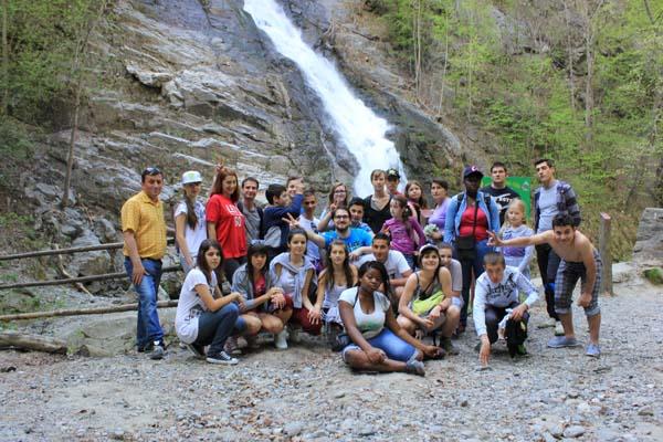 Parcul National Cozia, sursa de inspiratie pentru tinerii ecologisti francezi