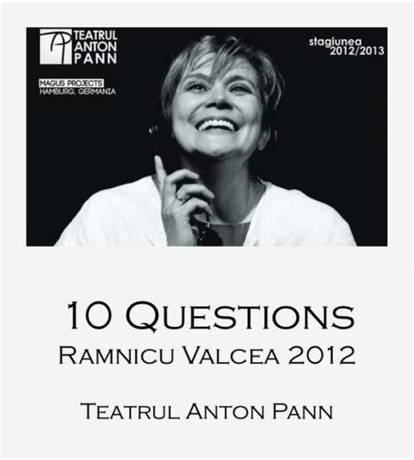 """Spectacolul """"10 INTREBARI"""" prezentat la Festivalul International de Teatru de la Varna"""
