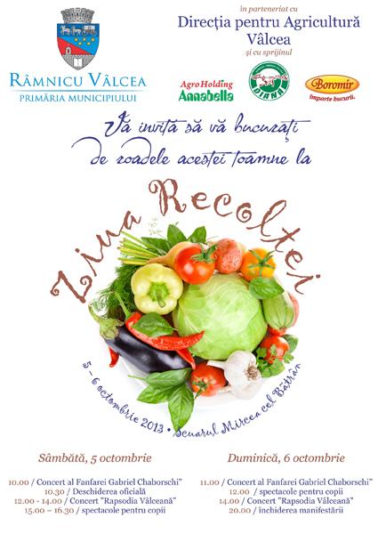 """""""Ziua Recoltei"""" – 5-6 octombrie 2013"""
