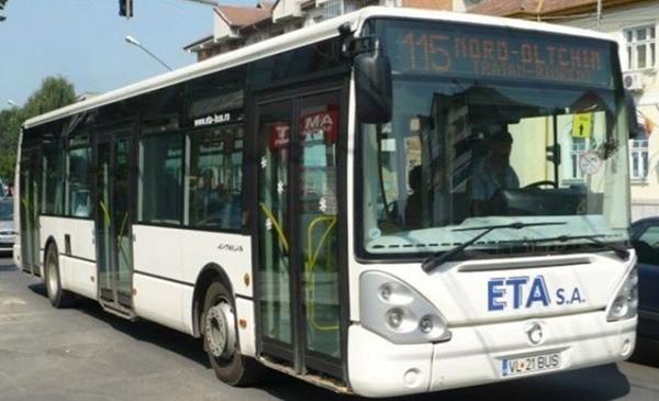 ETA – linie nouă de transport în Rm. Vâlcea
