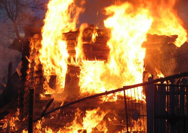 Incendiu la Galicea, judeţul Vâlcea