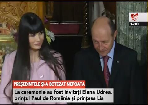 Sobor de 12 preoţi, trei naşi şi oaspeţi de seamă… Prinţesa Lia, Elena Udrea…