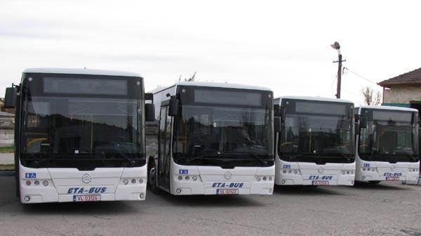 ETA a scos în trafic primele patru autobuze NOI dotate cu camere VIDEO
