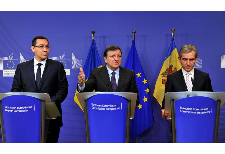 """Barroso despre aderarea la spaţiul Schengen """"Unele state membre nu vor România în Schengen"""""""