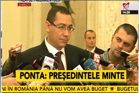 BREAKING NEWS: Bugetul pleaca la Basescu