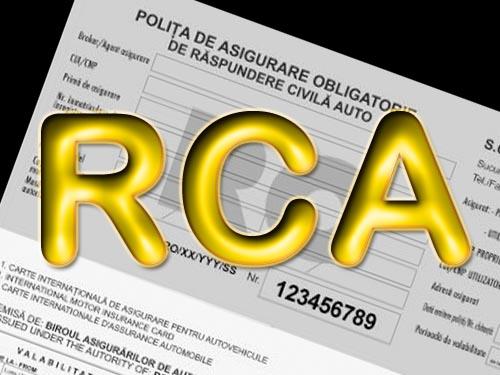 Atenţie la RCA!