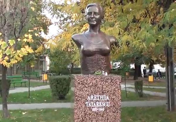 Povestea bustului Arethiei Tătărăscu