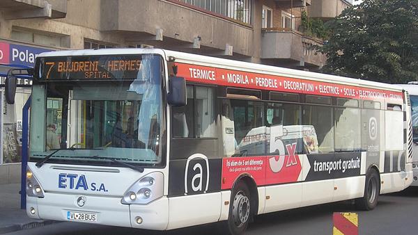 PROGRAMUL DE TRANSPORT IN PERIOADA MINIVACANTEI DE 1 MAI