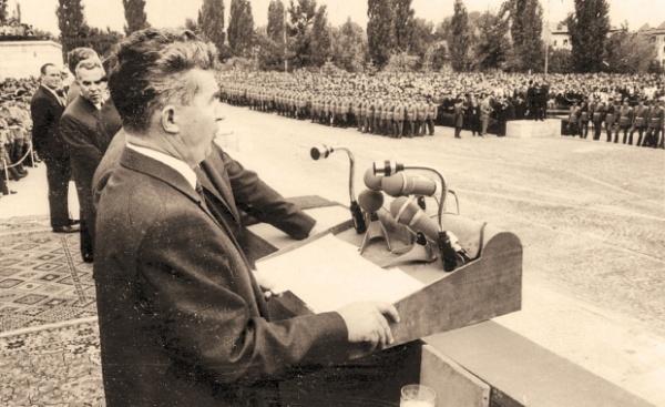 Ultima vizită a lui Nicolae şi Elena Ceauşescu în Vâlcea