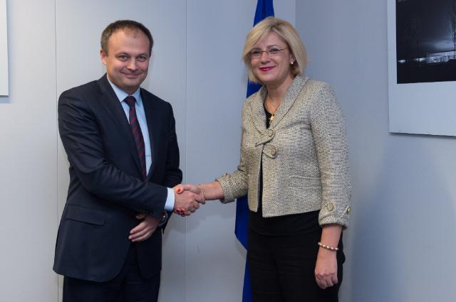 Comisarul european, Corina Creţu asigură susținerea politică și practică din partea Comisiei Europene pentru Republica Moldova