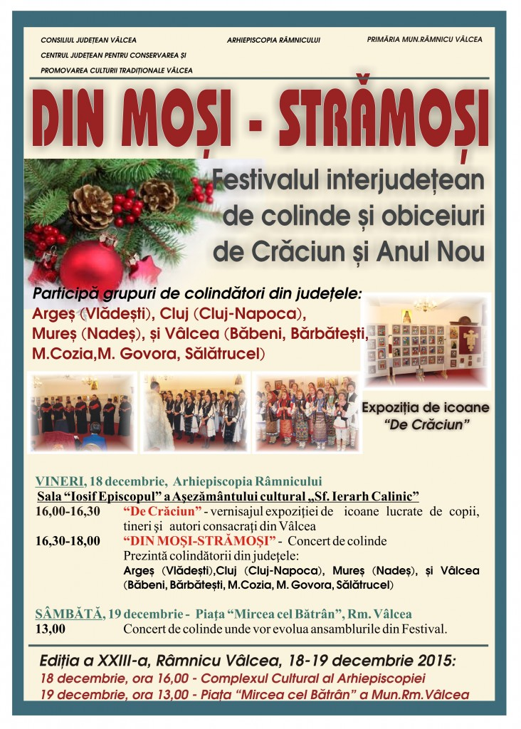 Afis Din mosi stramosi 2015