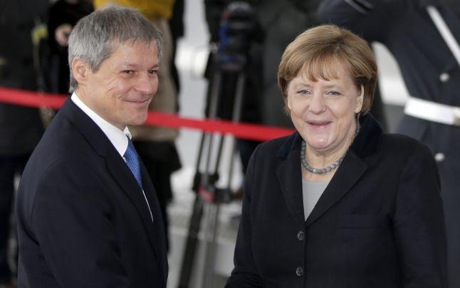Ciolos si Merkel