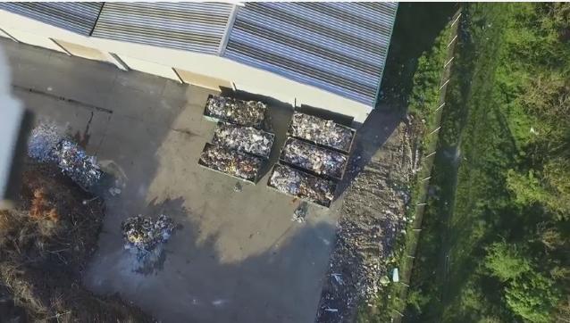 gunoi statie de compost