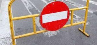 Atenție șoferi! Circulație rutieră blocată!