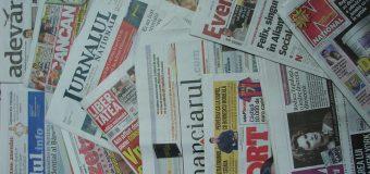 Din nou contractele cu presa în vizorul organelor de control fiscal