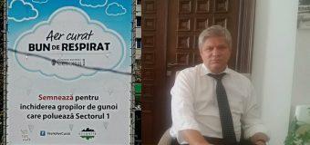 Aducerea deșeurilor din țară în Sectorul 1 din București trebuie să înceteze de îndată!