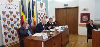 VIDEO Bugetul județului Vâlcea dezbătut doar de consilierii liberali