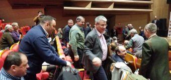 VIDEO Presa dată afară de la sedinta de lucru a ministrului Apelor și Pădurilor- Ioan Deneș