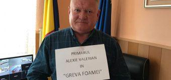 Primarul liberal, Alexie Valerian a intrat în greva foamei