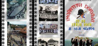 """Ediția 50 """"Învârtita Dorului"""", sărbătoarea ansamblurilor folclorice"""