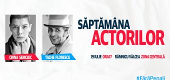 Actorii din București vin la Râmnicu Vâlcea și vor strânge semnături pentru inițiativa cetățenească – #FaraPenali