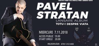 PAVEL STRATAN – lansare de album la RÂMNICU VÂLCEA, doar în ABY STAGE BAR