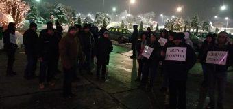 OLTCHIM – 48 salariați în Greva Foamei la -2 grade, autoritățile petrec!