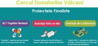 """""""Cercul Donatorilor Vâlceni"""" – ediţia I, pe 7 februarie 2019"""