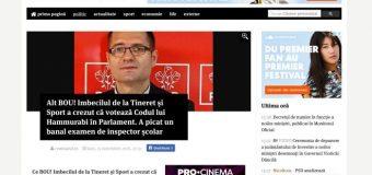 """Iar s-a făcut de KKo """"marele"""" ministru vâlcean Matei Bogdan"""