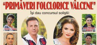 """Constantin Enceanu invitat în concertul extraordinar """"Primăveri folclorice vâlcene""""…."""