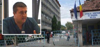 Spitalul Județean Vâlcea vector de imagine pentru opoziție prin atacuri murdare!