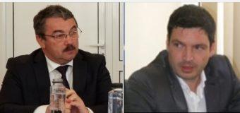 Ștefan Prală îi urează succes lui Burlănescu Marius Adrian..