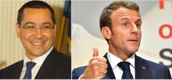 PRO România – formațiunea politică preferată de președintele Franței, Emmanuel Macron