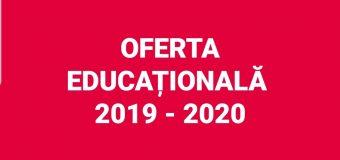 Oferta școlară vâlceană 2019-2020