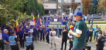 VIDEO TREI ZILE DE PROTEST INUTIL și Sindicaliștii…