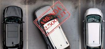 PRIMĂRIA disciplinează șoferii. Parchezi neregulamentar, scoți din buzunar 2500 lei…