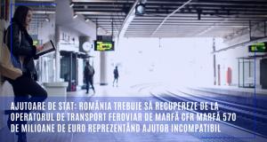 Ajutor de stat ILEGAL în valolare de 570 MILIOANE de euro…